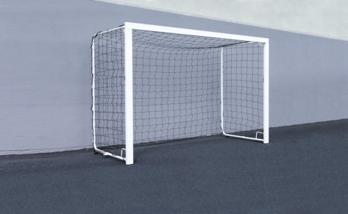 Plastic-coated school handball goal
