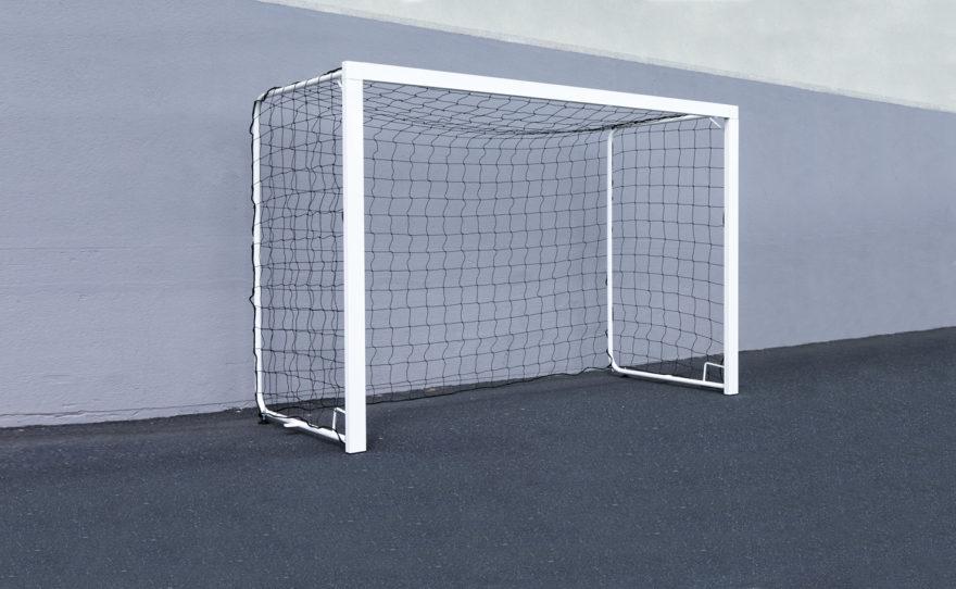 But de handball scolaire en acier plastifié