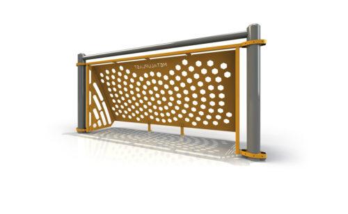Brazilian goal for multi-sports playground