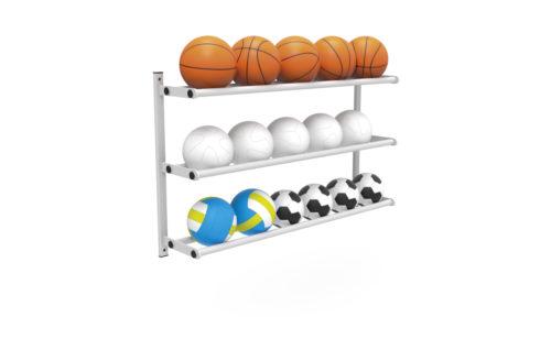 Ratelier porte-ballon - basketball football volley-ball handball