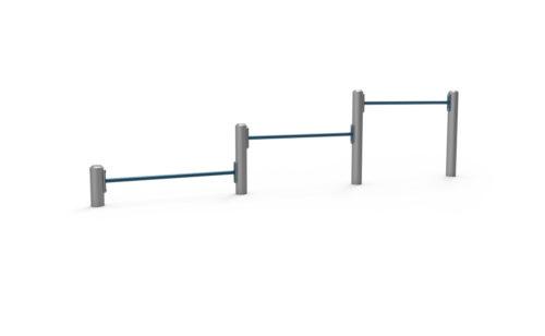 Agré de street workout - barre triple de pompe