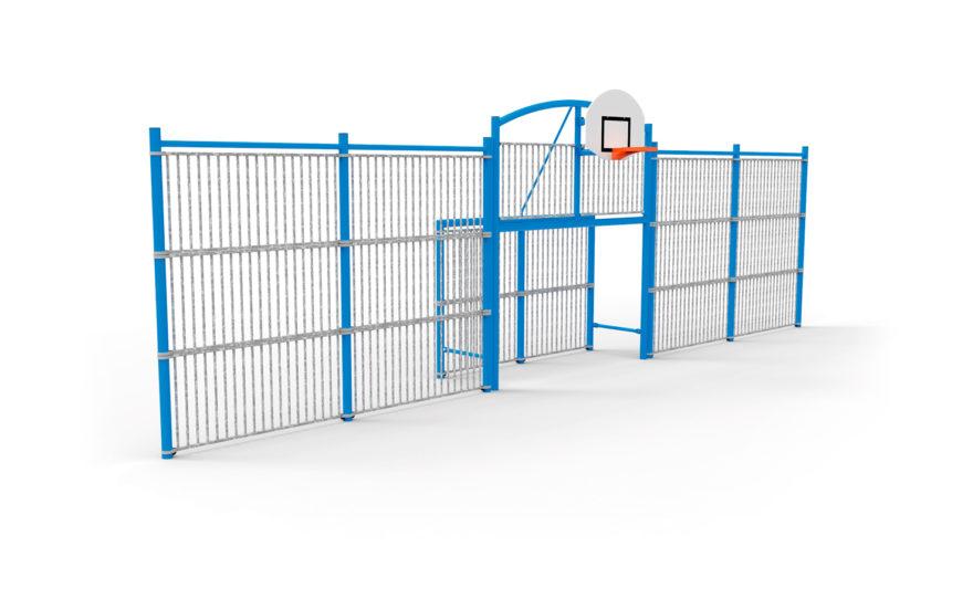 Multi-sports-pediment-classic-12-bar-panels-galvanized-raw-steel